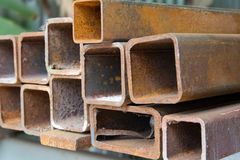 Gammalt stålsätta Arkivfoton