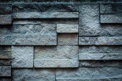 Gammal bakgrund vaggar textur för väggtegelsten-/väggsten Fotografering för Bildbyråer