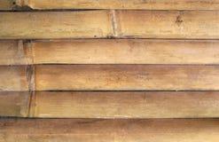 Gammal bambuvägg Royaltyfri Fotografi
