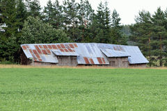 Gammal barnhouse Royaltyfri Bild