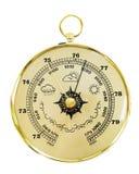 gammal barometer Royaltyfri Bild
