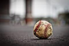 gammal baseball Royaltyfria Bilder