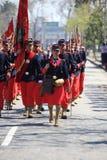 Gammal bataljon chile Arkivbilder