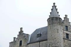 Gammal befästning i Antwerp royaltyfria foton