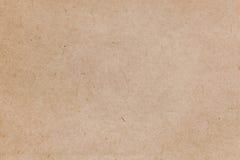 Gammal beigapapperstextur, ljus bakgrund Arkivbilder