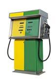 Gammal bensinpump Arkivfoton