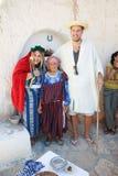 Gammal berberkvinna Arkivfoton