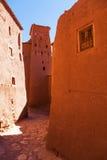 Gammal bergby Ait-Ben-Haddou Arkivbild