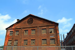 Gammal Bethlehem Steel växt Arkivfoto