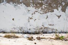 Gammal betongvägg Royaltyfri Bild