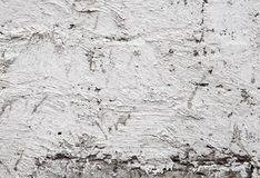 Gammal betongväggtextur med murbruk Arkivfoton