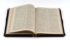 gammal bibel Royaltyfria Bilder