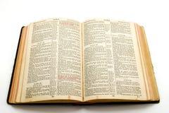 gammal bibel Arkivbild