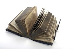 gammal bibel Arkivfoton