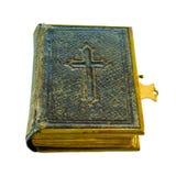 gammal bibel mycket Arkivbild