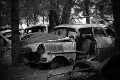 gammal bil arkivfoton