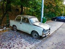 gammal bil Arkivfoto