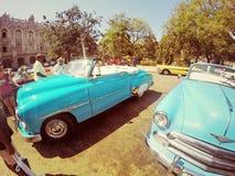 Gammal bil för Kuba Royaltyfri Foto
