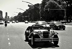 Gammal bil på Buenos Aires, Argentina Arkivfoton