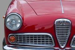 Gammal bil som är retro, closeup royaltyfri foto
