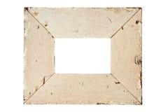 gammal bild för beige ram fotografering för bildbyråer