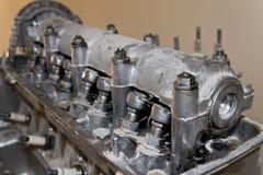 gammal bilmotor Royaltyfria Bilder
