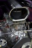 gammal bilmotor Arkivbilder