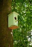 Gammal birdhouse Royaltyfria Foton