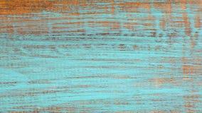 Gammal blå trätabell med grunge, abstrakt texturbakgrund Fotografering för Bildbyråer