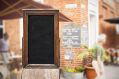 Gammal blackboard Royaltyfri Bild