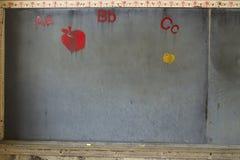 gammal blackboard Royaltyfri Fotografi