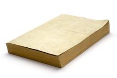 gammal blank bok Royaltyfria Bilder