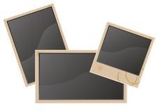 Gammal blank fotovektorillustration vektor illustrationer