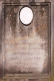 gammal blank gravestone royaltyfri foto
