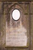gammal blank gravestone royaltyfri bild