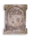gammal blank gravestone royaltyfria foton