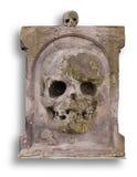 gammal blank gravestone arkivbilder