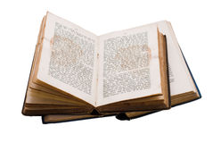 gammal bok Arkivbild