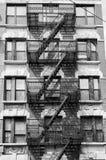 Gammal brandflykt, New York royaltyfria foton