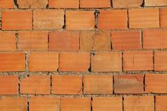 gammal brickwall Arkivfoto