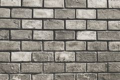 Gammal Brickwork den svarta flickan döljer white för skjorta för manfotografi s Arkivfoto