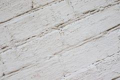 Gammal Brickwork red med den vita skarven Vit silikattegelsten Smula tegelsten ibland royaltyfria foton