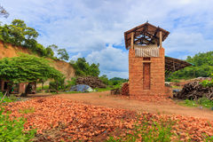 Gammal brickyard Royaltyfri Foto