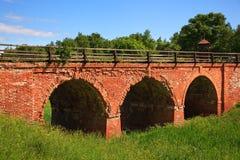 gammal bro Arkivbilder