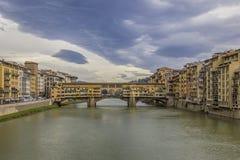 Gammal bro Arkivfoto