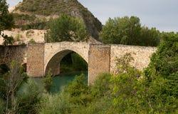 Gammal bro av Aunon Royaltyfria Foton