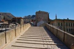 Gammal bro en Mostar royaltyfri bild