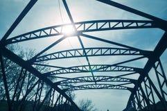 Gammal bro från Timisoara Rumänien arkivfoto