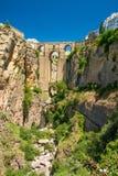 Gammal bro i Ronda Arkivbilder