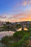 Gammal bro i Trebinje - Bosnien och Hercegovina Royaltyfri Bild